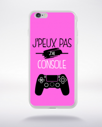 Coque j'peux pas j'ai console 6 compatible iphone 6 transparent