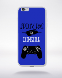 Coque j'peux pas j'ai console 12 compatible iphone 6 transparent