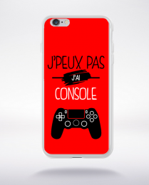 Coque j'peux pas j'ai console 9 compatible iphone 6 transparent