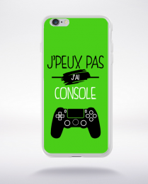 Coque j'peux pas j'ai console 4 compatible iphone 6 transparent