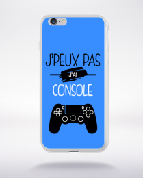 Coque j'peux pas j'ai console 3 compatible iphone 6 transparent