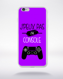 Coque j'peux pas j'ai console 8 compatible iphone 6 transparent