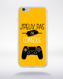Coque j'peux pas j'ai console 10 compatible iphone 6 transparent