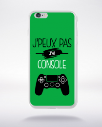 Coque j'peux pas j'ai console 11 compatible iphone 6 transparent