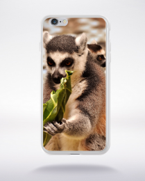 Coque petit singe compatible iphone 6 transparent