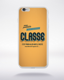 Coque coque la classe compatible iphone 6 transparent