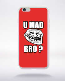 Coque coque u mad bro compatible iphone 6 transparent