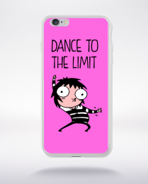 Coque dance to the limit. fond rose compatible iphone 6 transparent