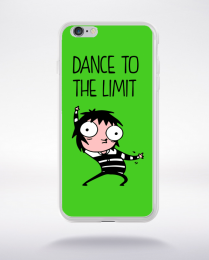 Coque dance to the limit. fond vert compatible iphone 6 transparent