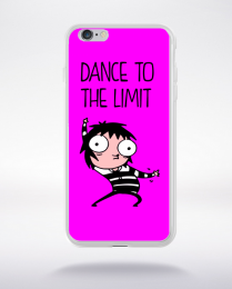 Coque dance to the limit. fond fushia compatible iphone 6 transparent
