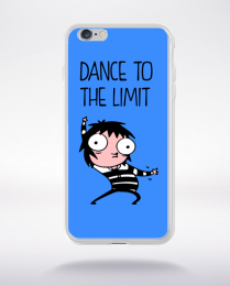 Coque dance to the limit. fond bleu compatible iphone 6 transparent