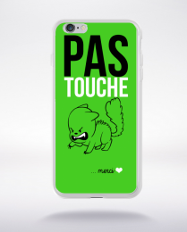 Coque pas touche. merci fond vert compatible iphone 6 transparent