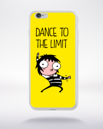 Coque dance to the limit. fond jaune compatible iphone 6 transparent