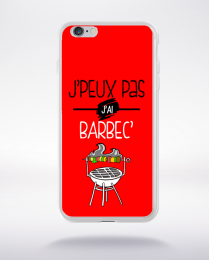 Coque j'peux pas j'ai barbec 4 compatible iphone 6 transparent