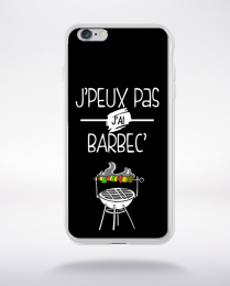 Coque j'peux pas j'ai barbec 1 compatible iphone 6 transparent