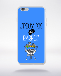 Coque j'peux pas j'ai barbec 10 compatible iphone 6 transparent