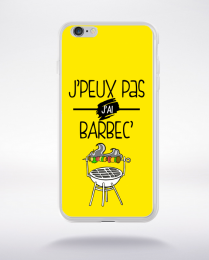 Coque j'peux pas j'ai barbec 3 compatible iphone 6 transparent