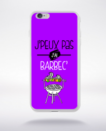 Coque j'peux pas j'ai barbec 5 compatible iphone 6 transparent