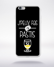 Coque j'peux pas j'ai pastis 1 compatible iphone 6 transparent