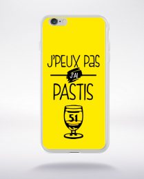 Coque j'peux pas j'ai pastis 4 compatible iphone 6 transparent