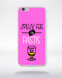 Coque j'peux pas j'ai pastis 8 compatible iphone 6 transparent