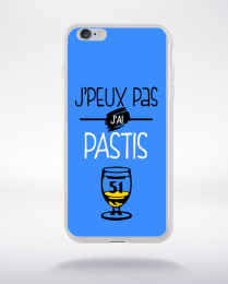 Coque j'peux pas j'ai pastis 2 compatible iphone 6 transparent
