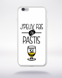 Coque j'peux pas j'ai pastis 3 compatible iphone 6 transparent