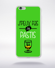 Coque j'peux pas j'ai pastis 10 compatible iphone 6 transparent