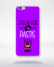 Coque j'peux pas j'ai pastis 7 compatible iphone 6 transparent