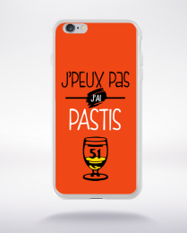 Coque j'peux pas j'ai pastis 9 compatible iphone 6 transparent