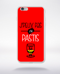 Coque j'peux pas j'ai pastis 5 compatible iphone 6 transparent