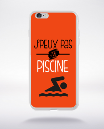 Coque j'peux pas j'ai piscine 8 compatible iphone 6 transparent