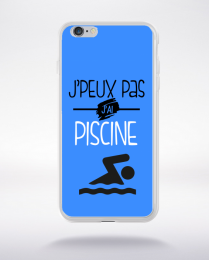 Coque j'peux pas j'ai piscine 10 compatible iphone 6 transparent