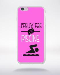 Coque j'peux pas j'ai piscine 7 compatible iphone 6 transparent
