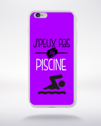 Coque j'peux pas j'ai piscine 6 compatible iphone 6 transparent