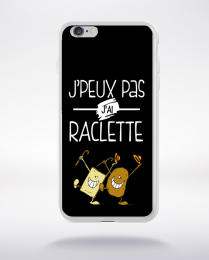 Coque j'peux pas j'ai raclette 9 compatible iphone 6 transparent