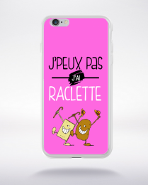 Coque j'peux pas j'ai raclette 5 compatible iphone 6 transparent