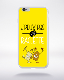 Coque j'peux pas j'ai raclette 1 compatible iphone 6 transparent