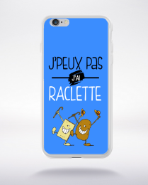 Coque j'peux pas j'ai raclette 8 compatible iphone 6 transparent