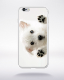 Coque chiot compatible iphone 6 transparent