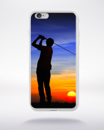 Coque joueur de golf compatible iphone 6 transparent