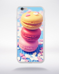 Coque macarons 5 compatible iphone 6 transparent