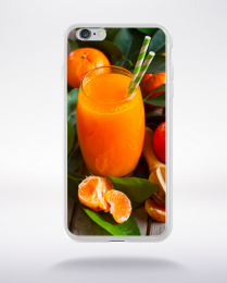 Coque jus d'orange compatible iphone 6 transparent