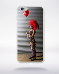 Coque clown sexy compatible iphone 6 transparent