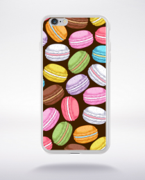 Coque macarons compatible iphone 6 transparent