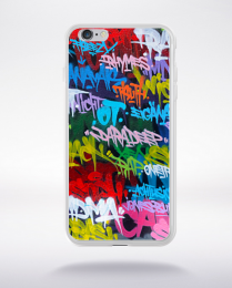 Coque grafitti urbain 2 compatible iphone 6 transparent