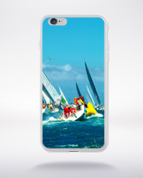 Coque course au large de l'île de ré compatible iphone 6 transparent