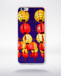 Coque lampions chinois compatible iphone 6 transparent