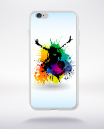 Coque graffiti urban compatible iphone 6 transparent