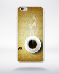 Coque pause café compatible iphone 6 transparent